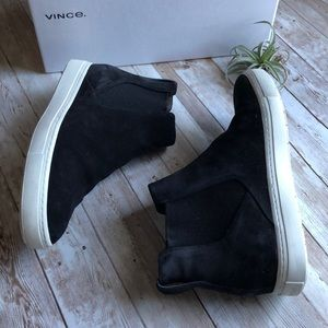 Vince Suede High Tops